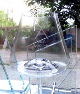 Kozarec za vino, graviran