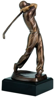 Pokal kipec golfist